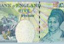 5. 'Elizabeth Fry' £5 Note