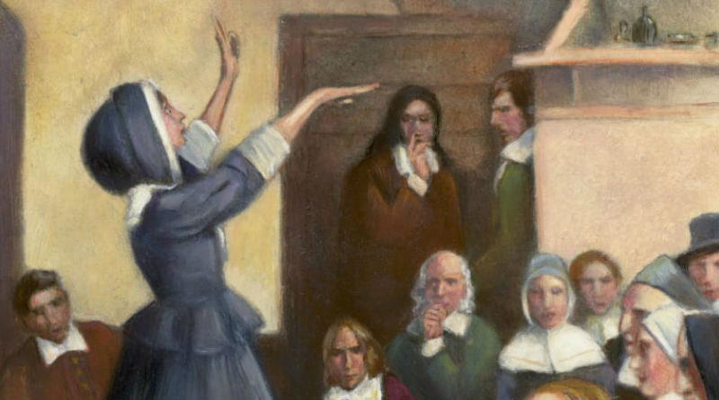 Ann Hutchinson And The Antinomian Controversy